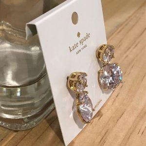kate spade Jewelry - Kate Spade Cubic Zirconia Earrings